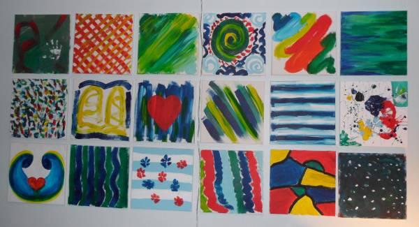 Create Your Own Nursery Art - Baby Shower Activity