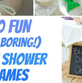 10+ Fun Baby Shower Games