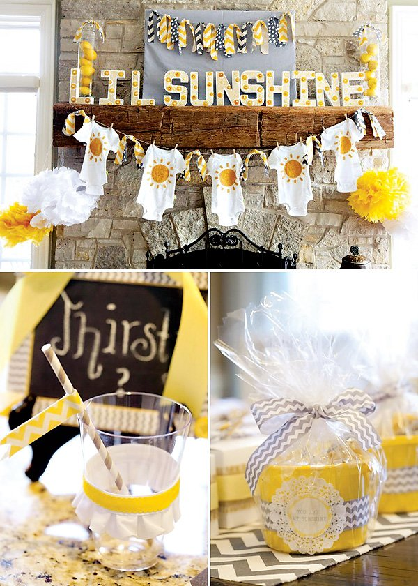 Unknown Neutral Gender Baby Shower Party Themes Color Ideas