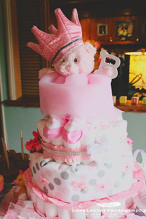 Cute Diaper Cakes For Girls Design Dazzle