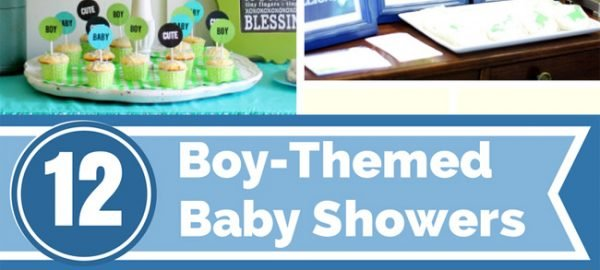 boys baby showers