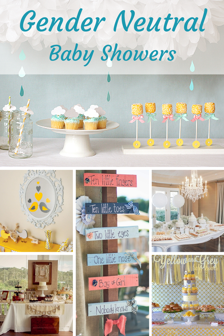 Unique Gender Neutral Baby Shower Ideas
