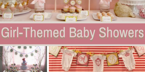 girl themed baby showers