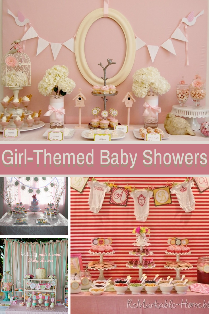 adorable girl baby shower ideas design dazzle
