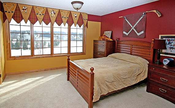 Wonderful Hockey Bedroom Decor