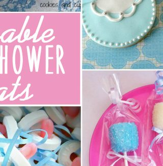 Adorable Baby Shower Treats