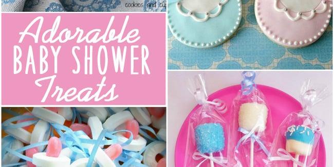 Adorable Baby Shower Treats Design Dazzle