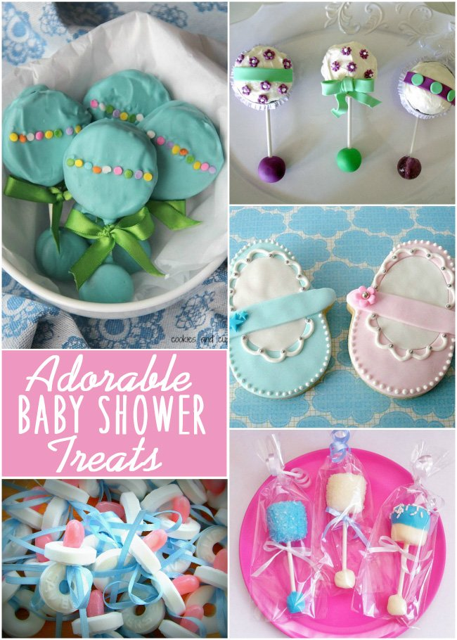adorable baby shower treats featured on design dazzle