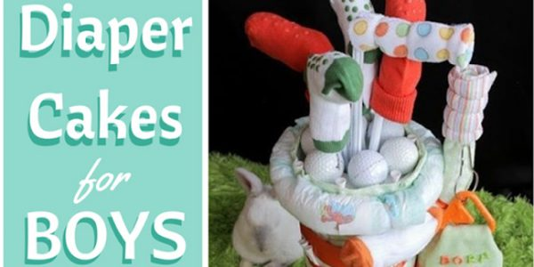 diaper cakes for boys