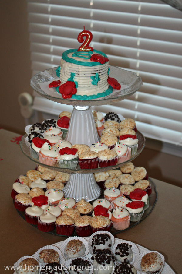 Cute As A Button Cake Cupcakes And Cookies