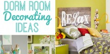 dorm room decorating ideas featured image