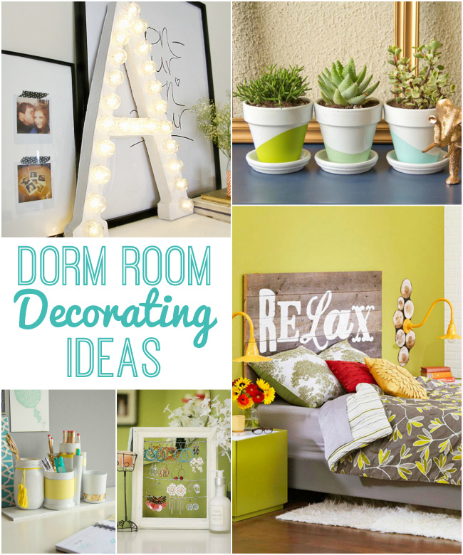 Cool Dorm Room Decorating Ideas with lots of DIY projects to save you money & Dorm Room Decorating Ideas - Design Dazzle