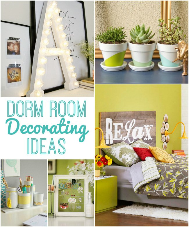 Diy Bedroom Decorating Ideas For Small Rooms: Dorm Room Decorating Ideas