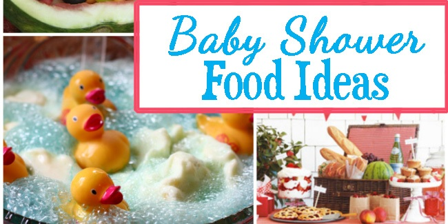 Baby Shower Food Table Ideas Creative Finger Food Spreads