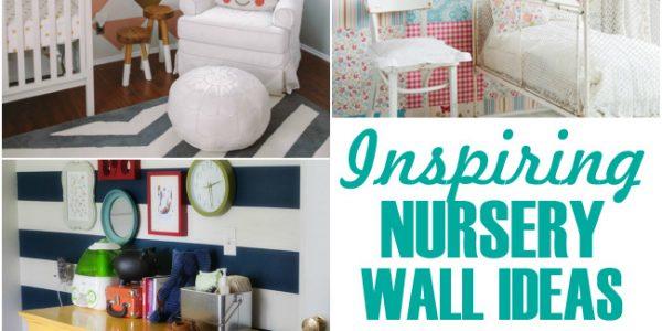 inspiring nursery wall ideas