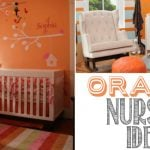 Colorful Orange Nursery Ideas