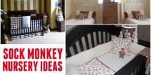 sock monkey nursery ideas featured image