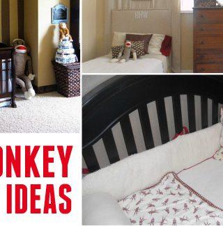 Sock Monkey Nursery Ideas
