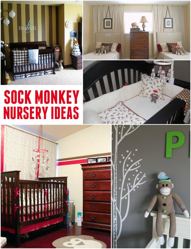cute sock monkey nursery ideas this theme never goes out of style. Interior Design Ideas. Home Design Ideas