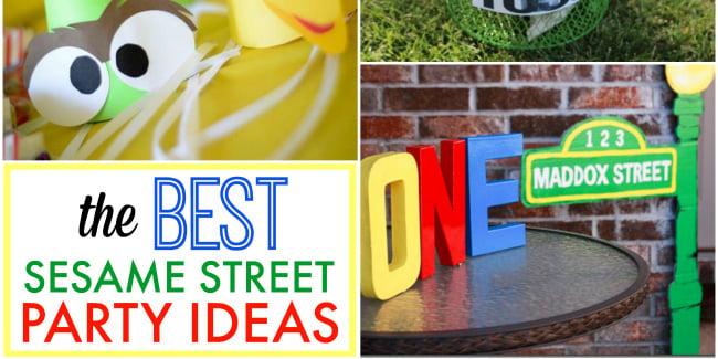 best sesame street party ideas