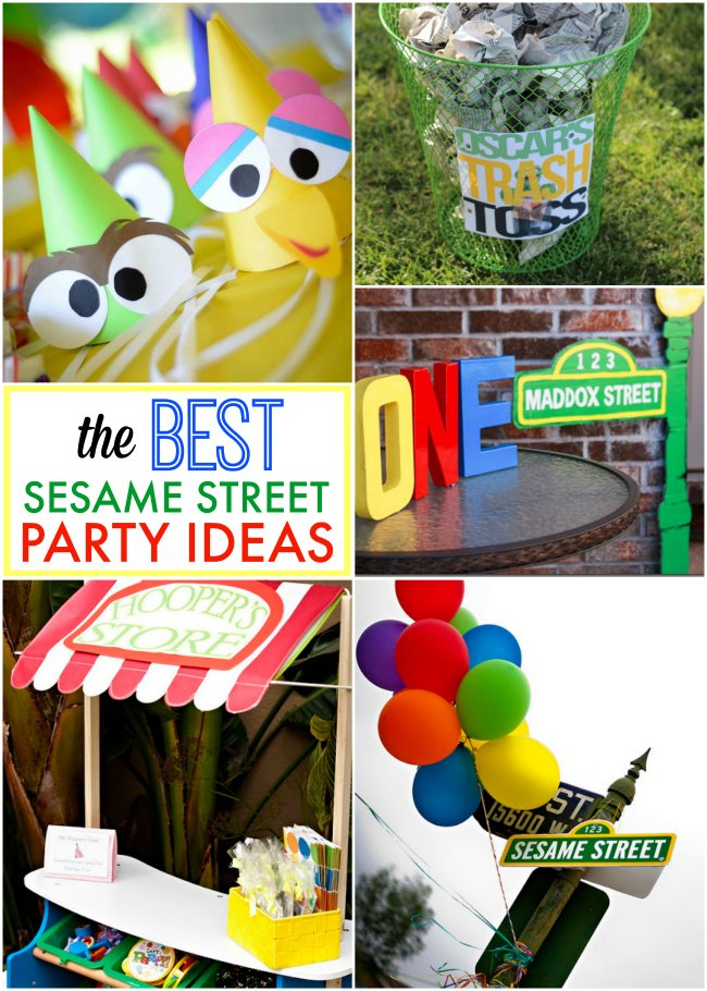Make Your Own Sesame Street Decorations
