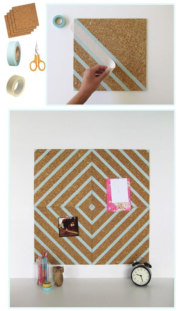 Dorm room decorating ideas design dazzle for How to decorate a cork board