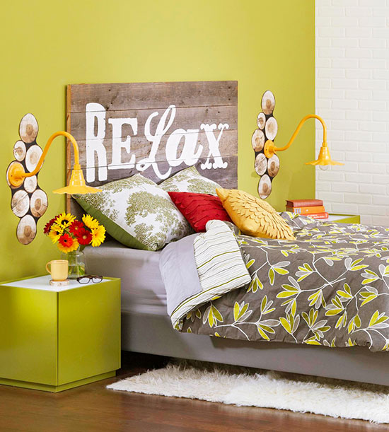 Make Your Own Headboard Using Wood Planks For Your Dorm Room Part 53