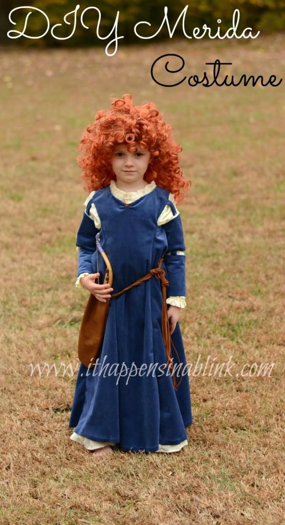 handmade merida costume