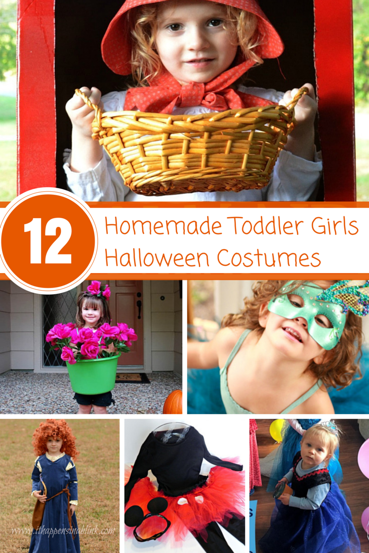 Darling Homemade Toddler Girls Halloween Costumes - Design Dazzle
