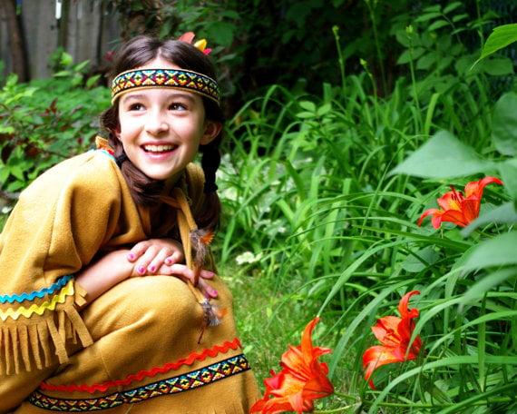 Native American girl costume Pocahontas costume