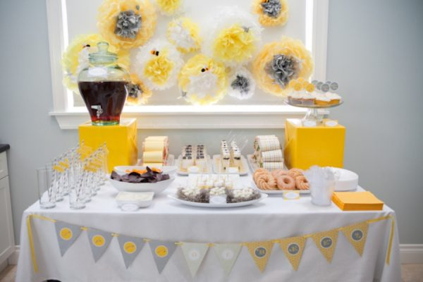 Birds and Bees Gender Reveal baby shower