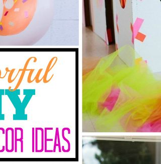 10 Bright DIY Party Decor Ideas