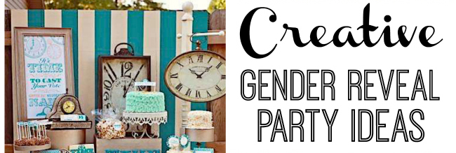 creative gender reveal party ideas fi