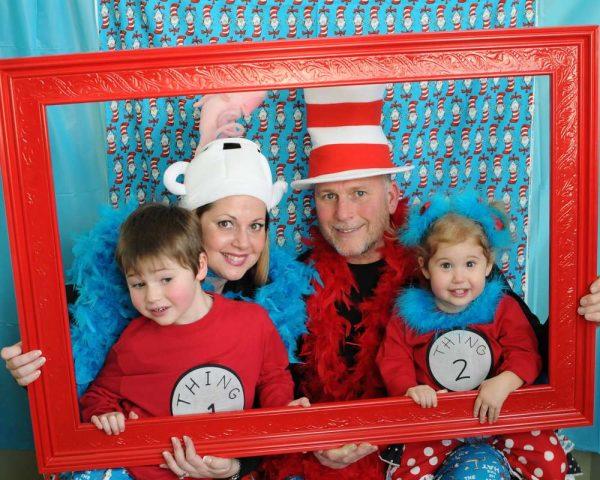 Dr. Seuss photobooth idea