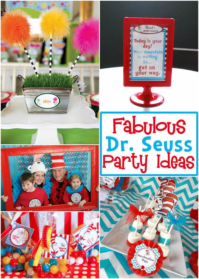 Fabulous Dr Seuss Party Ideas Design Dazzle