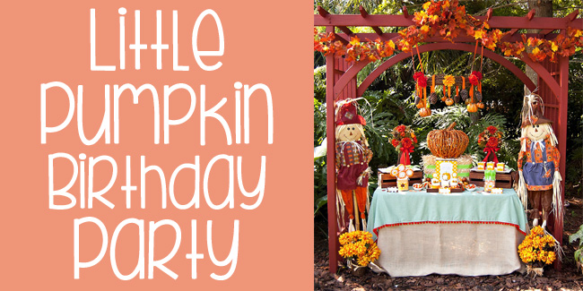 little pumpkin birthday party fi
