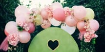 how to makr a fairy balloon arch - Design Dazzle