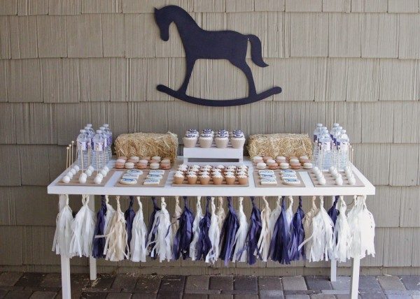 Rocking Horse themed baby shower
