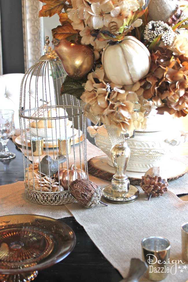 tablescape for autumn