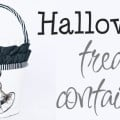 Halloween Treat Container - Design Dazzle