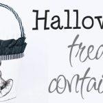 DIY Halloween Treat Container – Free Printable
