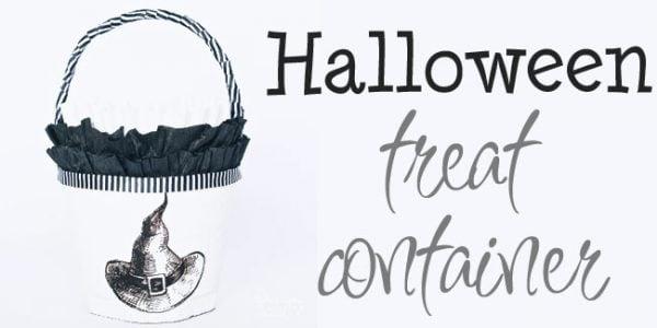 Halloween Treat Container - Design Dazzle