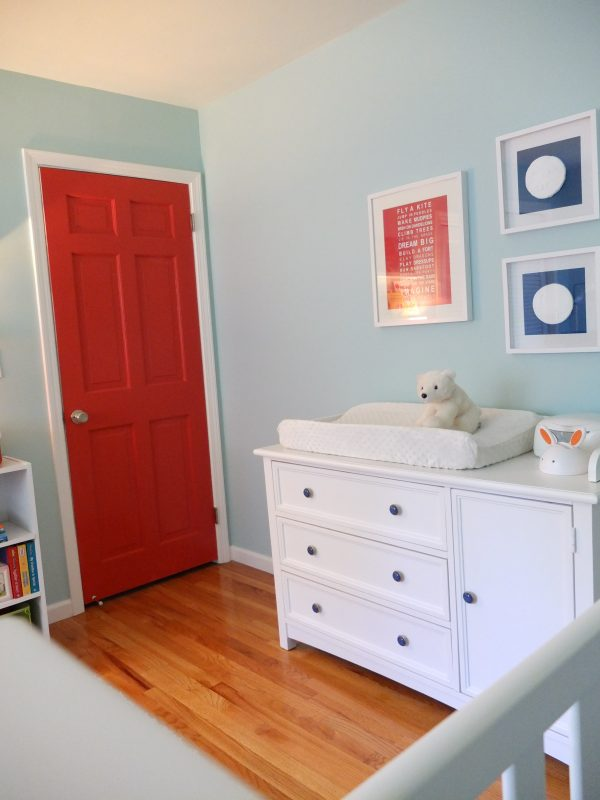 Gender-Neutral Twins Nursery - Up Up & Away Theme