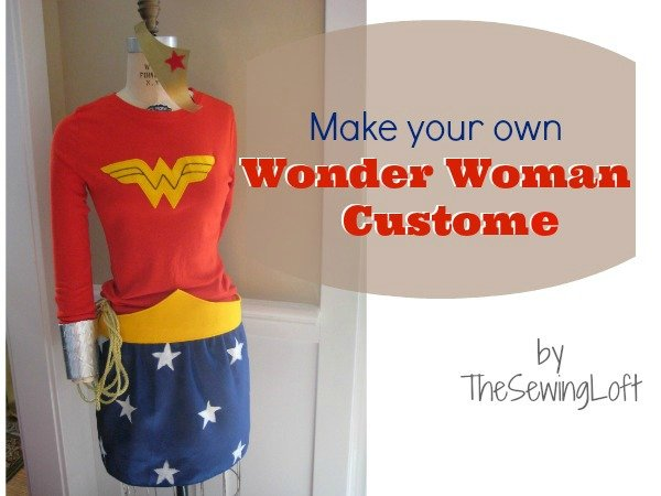 Make Your Own Wonder Women Costume for your Teen