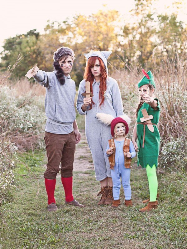 peter pan and the lost boys halloween costumes for siblings - Halloween Ideas For Siblings