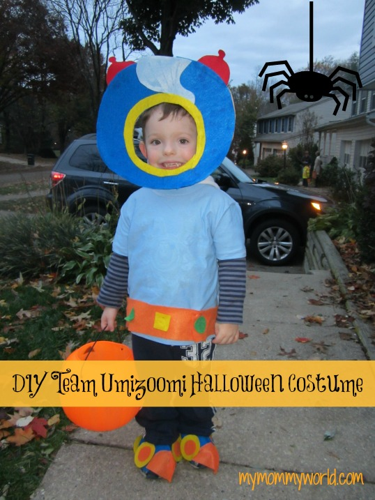 DIY Team Umizoomi Halloween Costume