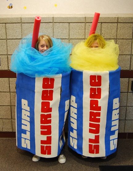 DIY Slurpee Costume for Teens