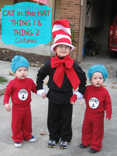 dr seuss halloween costume ideas for siblings - Halloween Ideas For Siblings