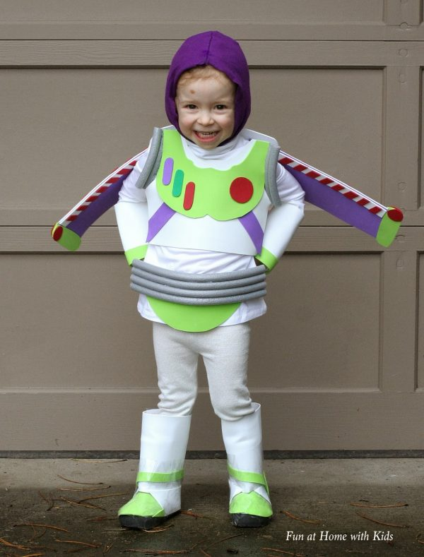 Buzz Lightyear Halloween Costume for Toddler Boys