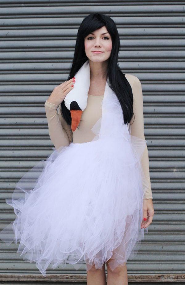 Bjork Swan costume for Teens